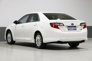 2012 Toyota Camry AVV50R Hybrid H White Continuous Variable Sedan