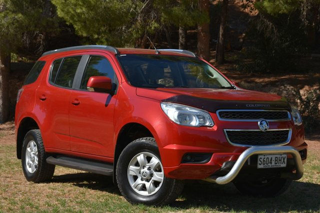 Used Holden Colorado 7 RG MY15 LT, 2015 Holden Colorado 7 RG MY15 LT Red 6 Speed Sports Automatic Wagon