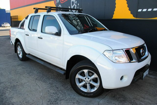 Used Nissan Navara D40 S6 MY12 ST, 2012 Nissan Navara D40 S6 MY12 ST Arctic White 6 Speed Manual Utility