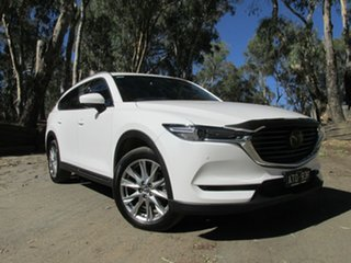 2018 Mazda CX-8 ASAKI White 6 Speed Automatic Wagon.