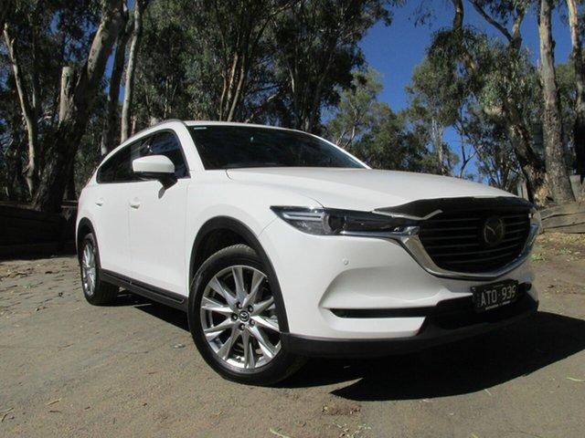 Demo Mazda CX-8  , 2018 Mazda CX-8 ASAKI White 6 Speed Automatic Wagon