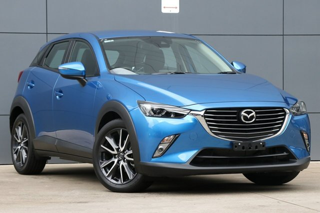 Used Mazda CX-3 DK2W7A sTouring SKYACTIV-Drive, 2018 Mazda CX-3 DK2W7A sTouring SKYACTIV-Drive Dynamic Blue 6 Speed Sports Automatic Wagon