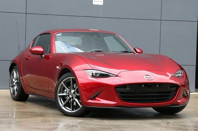 Used Mazda MX-5 ND GT RF SKYACTIV-Drive, 2018 Mazda MX-5 ND GT RF SKYACTIV-Drive Soul Red 6 Speed Sports Automatic Targa