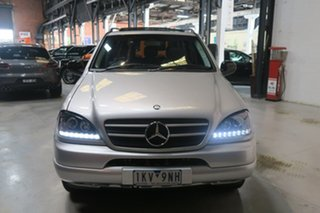 2000 Mercedes-Benz M-Class W163 MY2000 ML320 Luxury Silver 5 Speed Sports Automatic Wagon