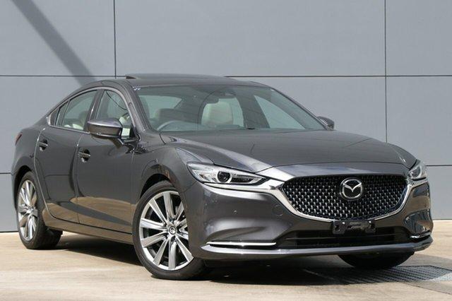Used Mazda 6 GL1022 Atenza SKYACTIV-Drive, 2018 Mazda 6 GL1022 Atenza SKYACTIV-Drive Machine Grey 6 Speed Sports Automatic Sedan