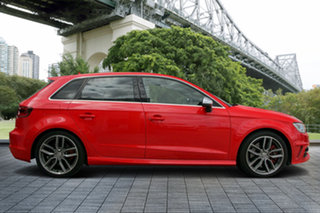 2013 Audi S3 8V MY14 Sportback S Tronic Quattro Red 6 Speed Sports Automatic Dual Clutch Hatchback.