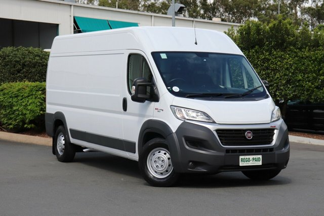 Used Fiat Ducato Series 6 (MY17) LWB/MID, 2016 Fiat Ducato Series 6 (MY17) LWB/MID White 6 Speed Automatic Van