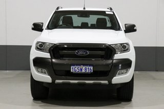 2017 Ford Ranger PX MkII MY18 Wildtrak 3.2 (4x4) White 6 Speed Automatic Dual Cab Pick-up.