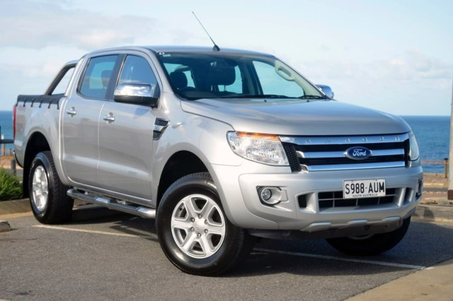 Used Ford Ranger PX XLT, 2012 Ford Ranger PX XLT Silver 6 Speed Sports Automatic Utility
