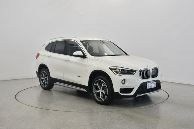 Used BMW X1 F48 sDrive20i Steptronic, 2015 BMW X1 F48 sDrive20i Steptronic White 8 Speed Sports Automatic Wagon