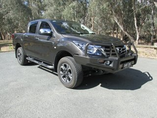 2018 Mazda BT-50 XTR Brown 6 Speed Manual Dual Cab.