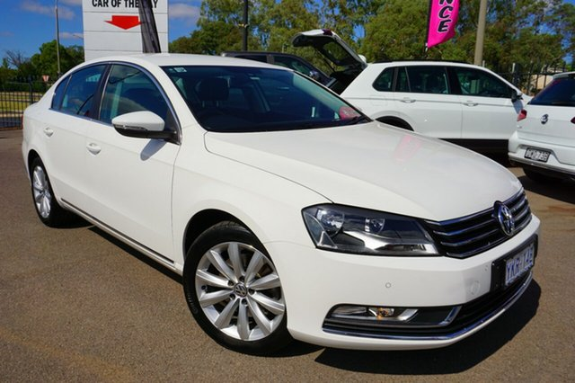 Used Volkswagen Passat Type 3C MY14.5 118TSI DSG, 2014 Volkswagen Passat Type 3C MY14.5 118TSI DSG Candy White 7 Speed Sports Automatic Dual Clutch