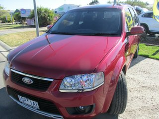 2010 Ford Territory TS TS RWD Seduce 5 Speed Automatic Wagon.