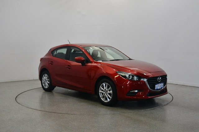Used Mazda 3 BN5478 Neo SKYACTIV-Drive, 2016 Mazda 3 BN5478 Neo SKYACTIV-Drive Red 6 Speed Sports Automatic Hatchback