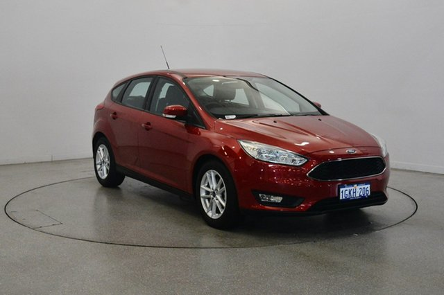 Used Ford Focus LZ Trend, 2017 Ford Focus LZ Trend Red Candy 6 Speed Automatic Hatchback