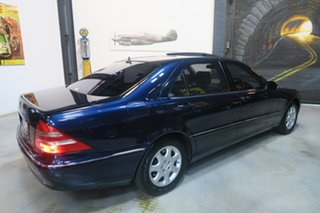1999 Mercedes-Benz S500 V220 L Blue 5 Speed Automatic Sedan
