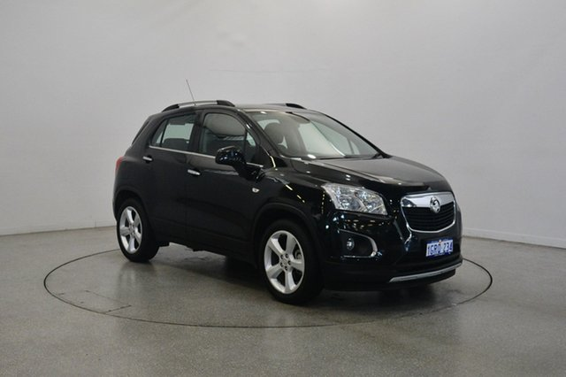 Used Holden Trax TJ MY16 LTZ, 2015 Holden Trax TJ MY16 LTZ Black 6 Speed Automatic Wagon