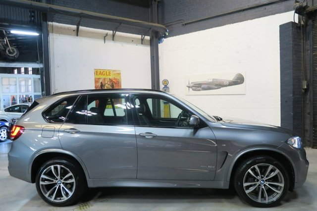 Used BMW X5 F15 xDrive30d, 2015 BMW X5 F15 xDrive30d Grey 8 Speed Sports Automatic Wagon