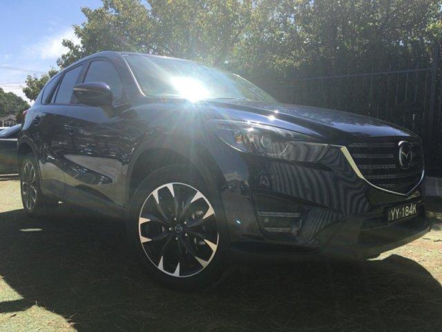 Used Mazda CX-5 KE1032 Akera SKYACTIV-Drive i-ACTIV AWD, 2016 Mazda CX-5 KE1032 Akera SKYACTIV-Drive i-ACTIV AWD Blue 6 Speed Sports Automatic Wagon
