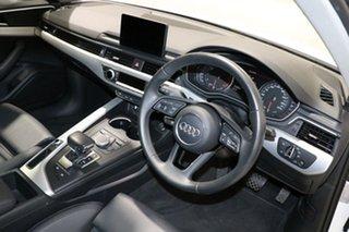 2017 Audi A4 F4 MY18 (B9) 2.0 TFSI S Tronic S Line White 7 Speed Auto Dual Clutch Sedan