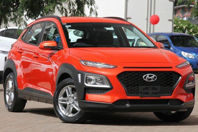 New Hyundai Kona OS.2 MY19 Active 2WD, 2018 Hyundai Kona OS.2 MY19 Active 2WD Tangerine Comet 6 Speed Sports Automatic Wagon