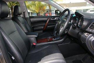 2012 Toyota Kluger GSU45R MY12 Grande AWD Grey 5 Speed Sports Automatic Wagon
