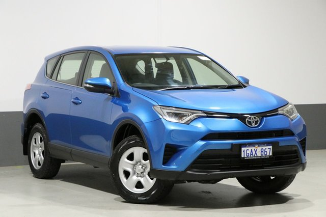 Used Toyota RAV4 ASA44R MY16 GX (4x4), 2016 Toyota RAV4 ASA44R MY16 GX (4x4) Blue 6 Speed Automatic Wagon