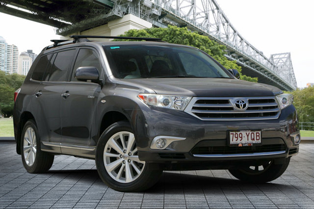 Used Toyota Kluger GSU45R MY12 Grande AWD, 2012 Toyota Kluger GSU45R MY12 Grande AWD Grey 5 Speed Sports Automatic Wagon