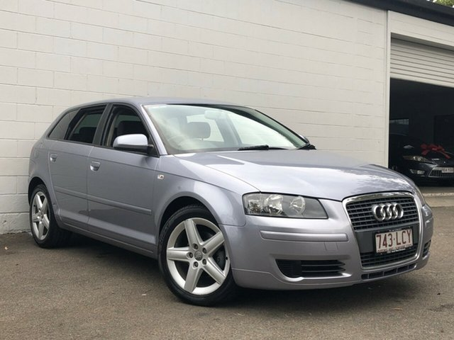 Used Audi A3 8P Attraction Sportback Tiptronic, 2006 Audi A3 8P Attraction Sportback Tiptronic Metallic Grey 6 Speed Sports Automatic Hatchback