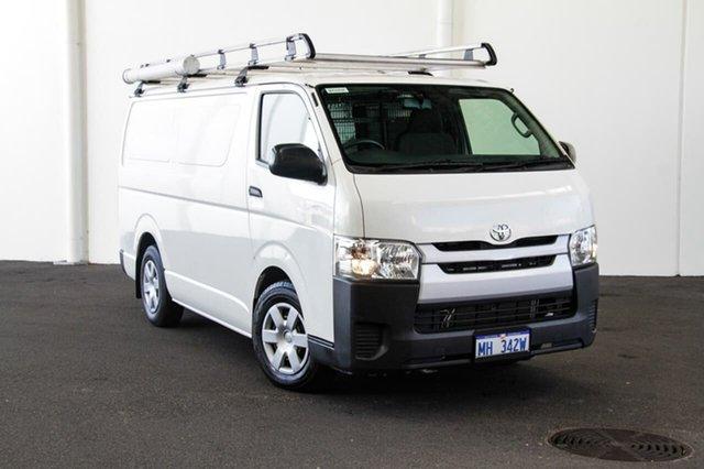 Used Toyota HiAce KDH201R MY14 LWB, 2014 Toyota HiAce KDH201R MY14 LWB French Vanilla 5 Speed Manual Van