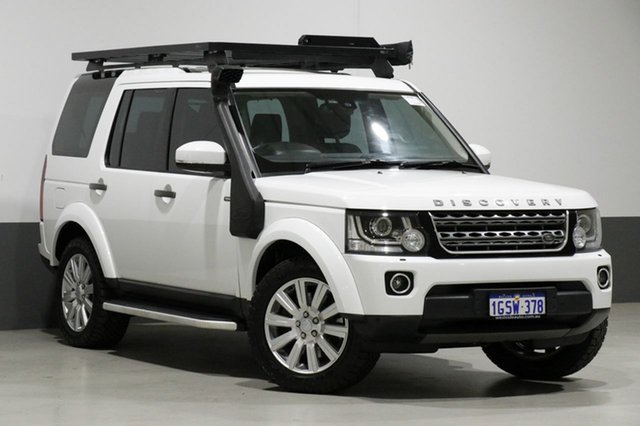 Used Land Rover Discovery MY16 3.0 TDV6, 2016 Land Rover Discovery MY16 3.0 TDV6 White 8 Speed Automatic Wagon
