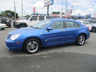 2007 Chrysler Sebring JS Touring Blue 4 Speed Sports Automatic Sedan.