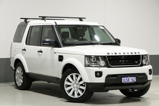 Used Land Rover Discovery MY16 3.0 TDV6, 2015 Land Rover Discovery MY16 3.0 TDV6 White 8 Speed Automatic Wagon