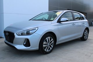 2018 Hyundai i30 Active Platinum Silver 7 Speed Automatic Hatchback