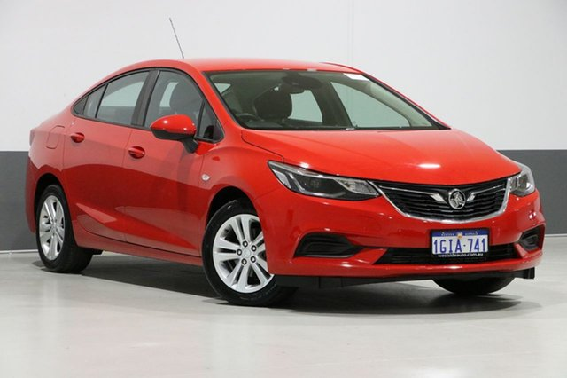 Used Holden Astra BL MY17 LS Plus, 2017 Holden Astra BL MY17 LS Plus Red 6 Speed Automatic Sedan