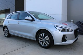 2018 Hyundai i30 Active Platinum Silver 7 Speed Automatic Hatchback.