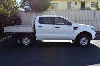 2014 Ford Ranger PX XL Double Cab 4x2 Hi-Rider White 6 Speed Sports Automatic Utility.