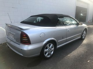 2002 Holden Astra TS Metallic Silver 4 Speed Automatic Convertible