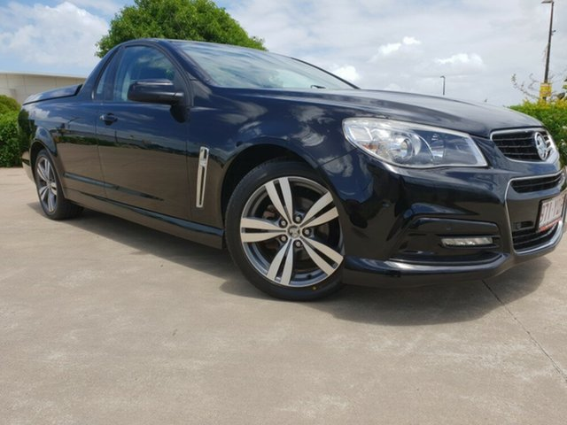 Used Holden Ute VF MY15 SV6 Ute, 2015 Holden Ute VF MY15 SV6 Ute Phantom Black 6 Speed Sports Automatic Utility