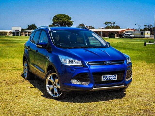 Used Ford Kuga  Titanium, 2015 Ford Kuga TF MkII Titanium Blue 6 Speed Sports Automatic Wagon