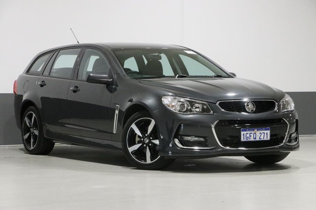 Used Holden Commodore VF II MY17 SV6, 2017 Holden Commodore VF II MY17 SV6 Grey 6 Speed Automatic Sportswagon