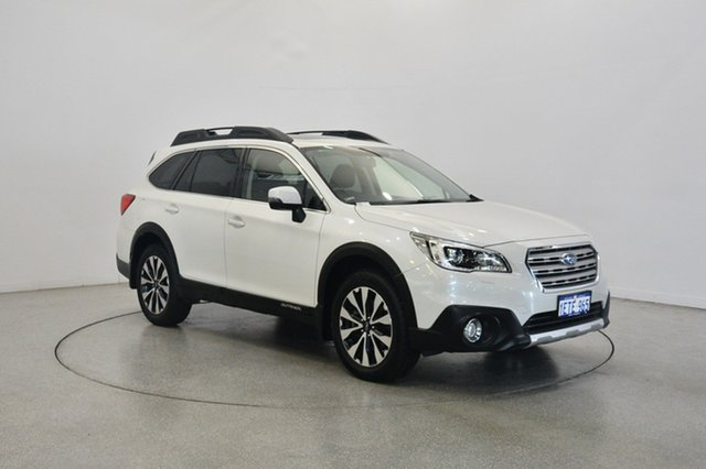 Used Subaru Outback B6A MY15 2.0D CVT AWD Premium, 2015 Subaru Outback B6A MY15 2.0D CVT AWD Premium Pearl White 7 Speed Constant Variable Wagon