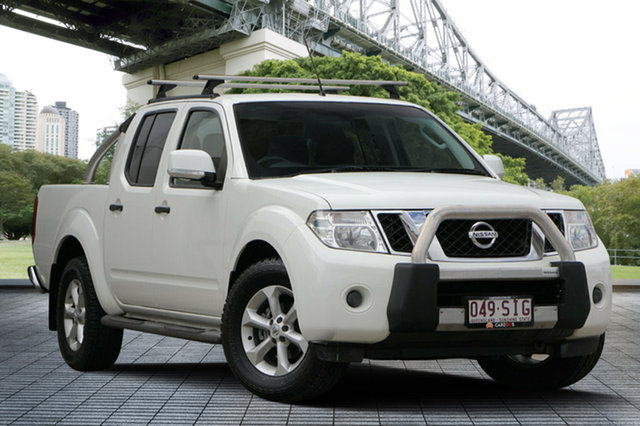 Used Nissan Navara D40 S6 MY12 ST, 2012 Nissan Navara D40 S6 MY12 ST White 6 Speed Manual Utility