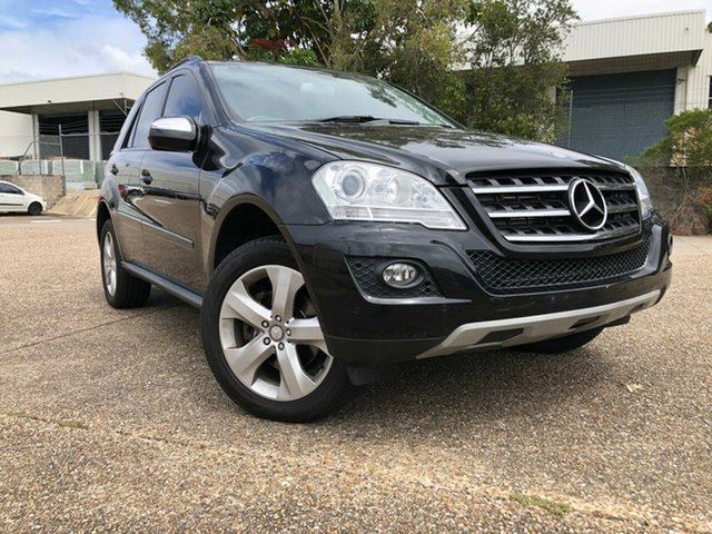 Used Mercedes-Benz M-Class W164 MY09 ML320 CDI Underwood, 2009 Mercedes-Benz M-Class W164 MY09 ML320 CDI Black 7 Speed Sports Automatic Wagon