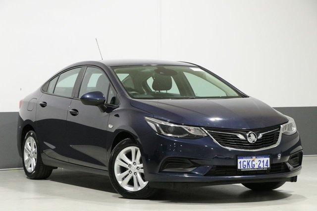 Used Holden Astra BL MY17 LS Plus, 2017 Holden Astra BL MY17 LS Plus Blue 6 Speed Automatic Sedan