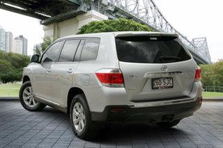 2011 Toyota Kluger GSU40R MY11 KX-R 2WD Silver 5 Speed Sports Automatic Wagon.