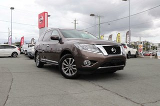 2015 Nissan Pathfinder R52 MY15 ST-L X-tronic 2WD Bronze 1 Speed Constant Variable Wagon.
