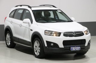 2015 Holden Captiva CG MY15 7 LT (AWD) White 6 Speed Automatic Wagon