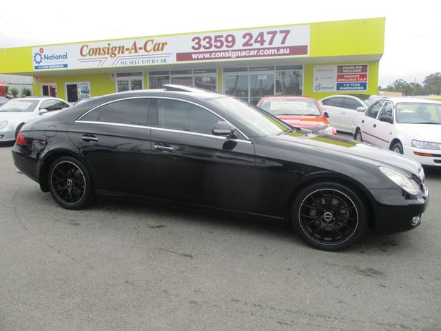 Used Mercedes-Benz CLS320  , 2006 Mercedes-Benz CLS320 Black Automatic Sedan