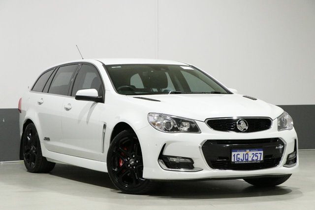 Used Holden Commodore VF II SS-V Redline, 2016 Holden Commodore VF II SS-V Redline White 6 Speed Automatic Sportswagon